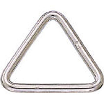 Triangle Link, Stainless Steel