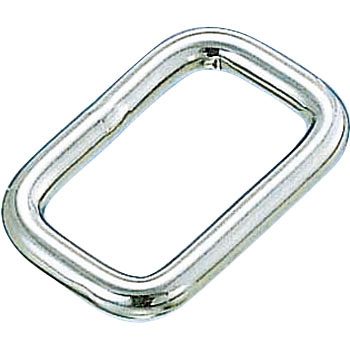 Square Link, Stainless Steel