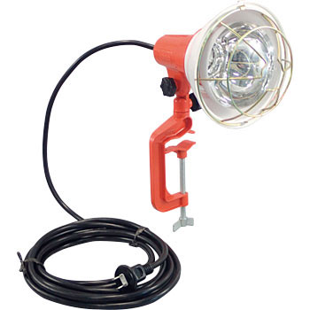 Outdoor working light reflector lamp (with vice)