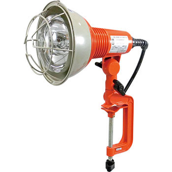 Outdoor Work Light, Reflector Lamp With Vice