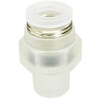 Tube Fitting Straight, PP Type