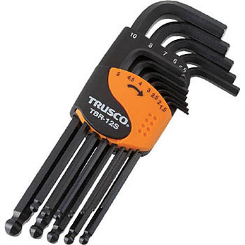 Ball point hex key wrench set,standard type