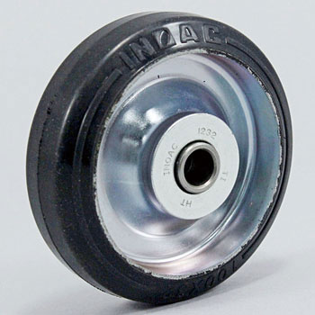 Press Rubber Caster Wheel