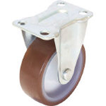 Nylon wheel urethane caster S series fixed type