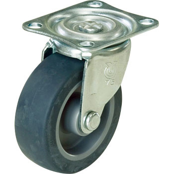 Elastomer Swivel Caster