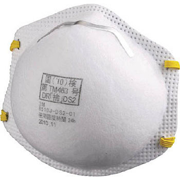Disposable Dust Mask, 8510J DS2
