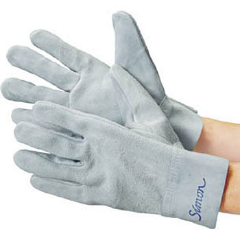 Cow Split Leather Glove, Inner Seam