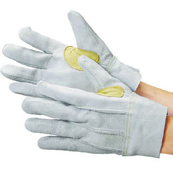 Cow Split Leather Glove, Back Seam