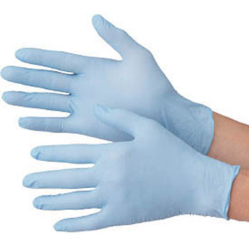 Very Thin Disposable Gloves, Blue