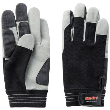 Knit Back Artificial Leather Gloves SC-705
