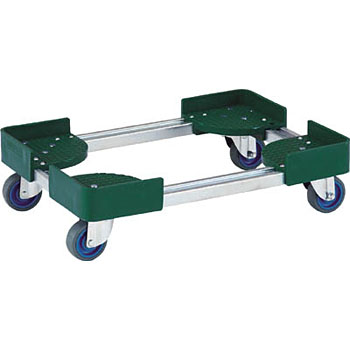 Telescopic container truck air caster four-wheel type