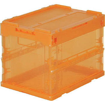 Folding Container Transparent, 20L, Lid