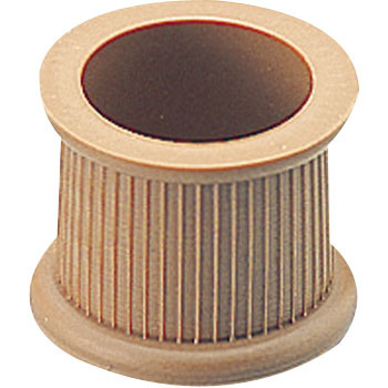 Chair Leg Protective Foot Cap, Brown, Round