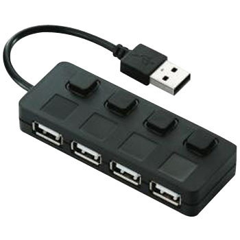 4 Port USB Hub, Switches