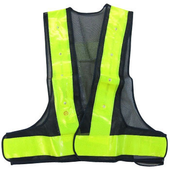 LED Wide Reflective Vest