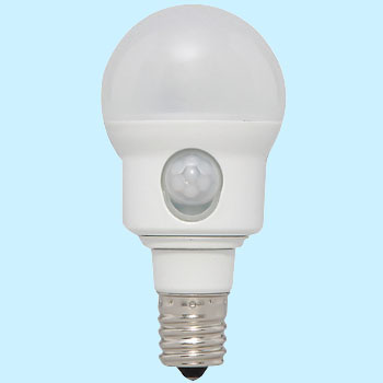LED Bulb, Motion Sensor, Small Bulb Type