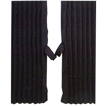 Black Out Accordion Curtain