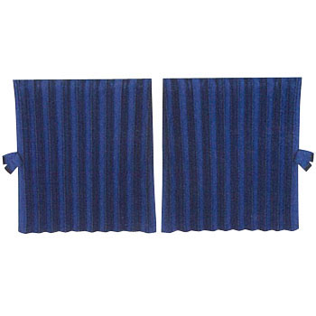 Rear Bed Curtains, Concertina