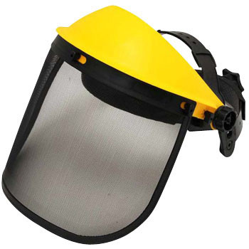 Brush Cutting Work Face Protector, Mesh