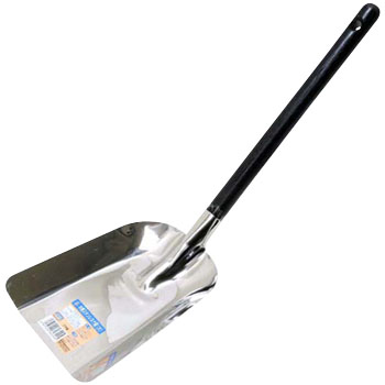 Wooden Handle Stainless Steel Fire Shovel Large