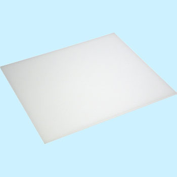 Acrylic Plate, Milky White Translucent