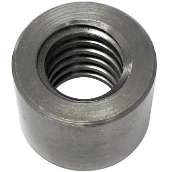 30 Degree Round Trapezoidal Nut, 10 Percent Right Screw Type, SS400