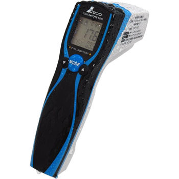 Radiation Thermometer, Dust and Water Proof, Dual Laser Point Function, Emissivity Variable Type