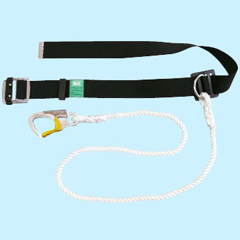 KH Lightweight Aluminum Small Hook Type Rope Safety Belt
