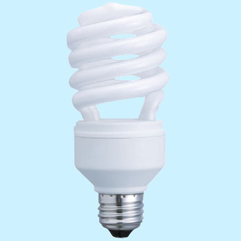 Bulb Type Fluorescent Light Spiral Pica D25 E26