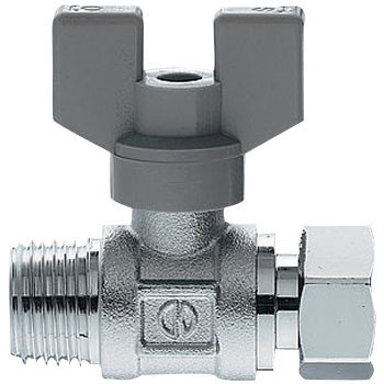 Butterfly Handle Ball Valve With One Nut