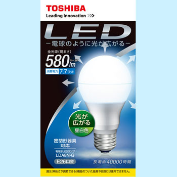 Light Bulb 7.7W Wide