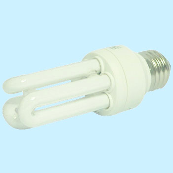White Fluorescent Bulb Eco 60W D Shaped Type