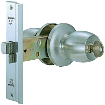 Integral aluminum sash replacement lock