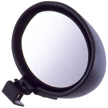 ASSISTANT MIRROR(ROUND) FOR TRUCK BLACK