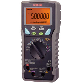 Digital Multimeter, PC Connection Type