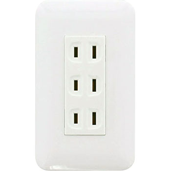 Cosmo Series Embedded With Double Outlet, W/Metal Frame