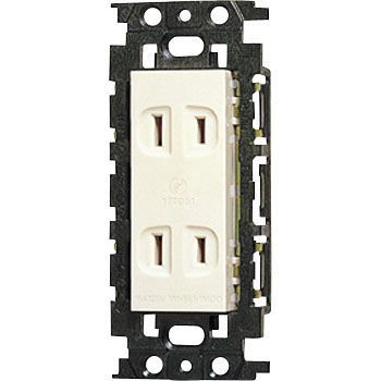 Embedded Double Outlet