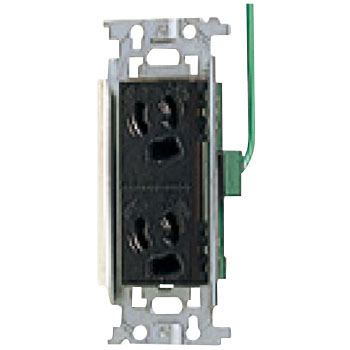 Retaining The Embedded Double Grounded Outlet