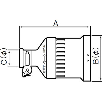 Rubber Cord Connector Body