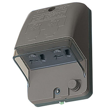 Full Grounding Waterproof Double Outlet