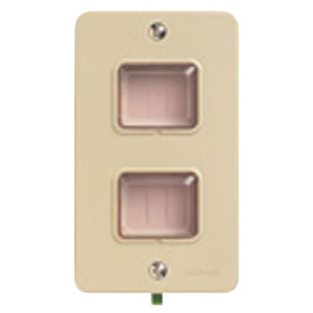 Rain-Proof Embedded Switch Plate, 1-Piece