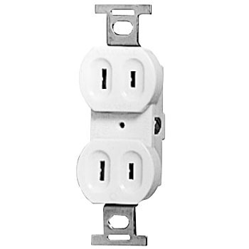 15A Embedded Double Outlet