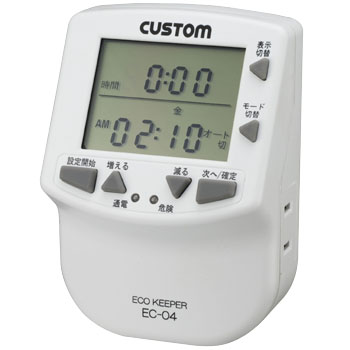 Program Timer Power Meter, ECO KEEPER