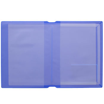 Both Sides Pocket Car Verification Case, One Side Gusset