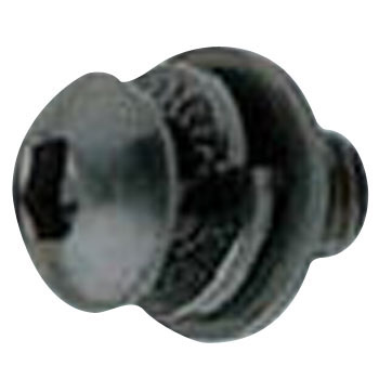 Hex Pan Head Screw, Internal Lock Washer Plus Flat Washer, WA Button GSP, SCM435, Black Oxide