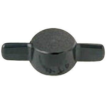 Wing Knob T Type Black Delrin 500