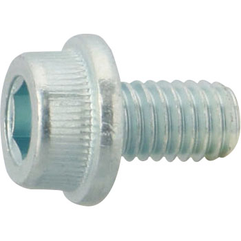 Socket Cap Flange Screw, SCM435, Trivalent White