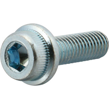 Socket Cap Flange Screw, SCM435, Uni Chromate, Pack Product