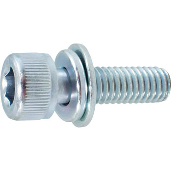 Hexagon socket head cap screws P equal 3 (SW + JIS W built-in (SCM435 / Uniqlo) (pack product)