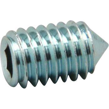 Hex Set Screw Truncated Cone Point, SCM435, Uni Chromate, Pack Product